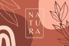 Natura  Modern Graphics Set , #SPONSORED, #collection#versatile#patterns#seamless #Ad