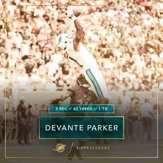 DeVante Parker climbs the ladder. 12/6/2015