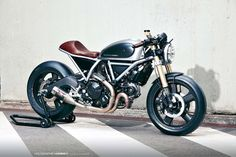 Ducati Scrambler with style. - Imgur