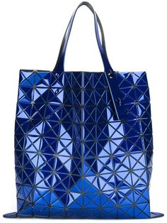 BAO BAO ISSEY MIYAKE 'Platinum-1' tote. #baobaoisseymiyake #bags #hand bags #pvc #tote #