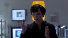 Sherlock in his mind palace. Love this pic!