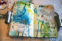 Collage Monday page by @Donna downey ... in one word: love!