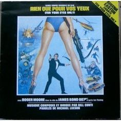 bill conti rien que pour vos yeux ( for your eyes only ) 33T