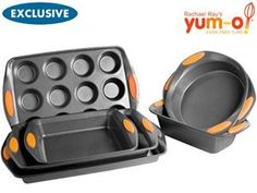 Nonstick Everything Set  (7-pc.)  Oven Lovin' by  Rachael Ray