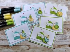 Note Cards, Thank You Cards, Snail Cards, New Catalogue, Stamping Up Cards, You've Got Mail, Paper Pumpkin, Snail Mail, Stampin Up