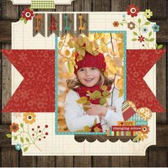 #scrapbook #fall #layout