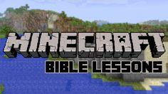 Minecraft Bible Lesson Series Idea
