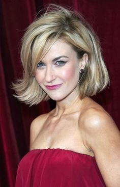 New Trend For Short Bob With Side Swept Bangs Wallpaper