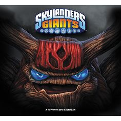 Skylanders Wall Calendar: The sequel to Skylanders: Spyro's Adventures, Skylanders: Giants introduces powerful Giants into the virtual world of Skyland.  $14.99  http://www.calendars.com/Kids-TV/Skylanders-2013-Wall-Calendar/prod201300007171/?categoryId=cat00071=cat00071#