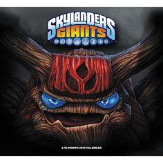 Skylanders Wall Calendar: The sequel to Skylanders: Spyro's Adventures, Skylanders: Giants introduces powerful Giants into the virtual world of Skyland.  $14.99  http://www.calendars.com/Kids-TV/Skylanders-2013-Wall-Calendar/prod201300007171/?categoryId=cat00071=cat00071#