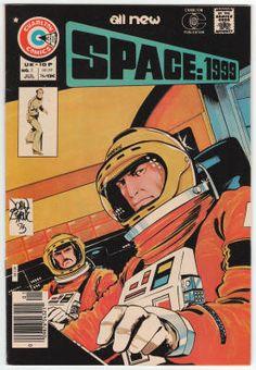 Space:1999 Comics #5, John Byrne cover art