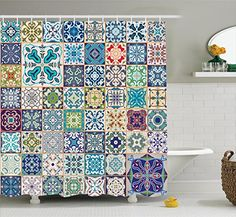 Moroccan Decor Shower Curtain Set by Ambesonne, Floral Pa... https://smile.amazon.com/dp/B01JLXK7HM/ref=cm_sw_r_pi_dp_x_iGT7ybPQJVTGP