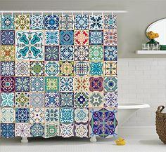 Moroccan Decor Shower Curtain Set By Ambesonne, Floral Pa... https://www.amazon.com/dp/B01JLXJBFG/ref=cm_sw_r_pi_dp_x_HuW4ybWBS9ZEN