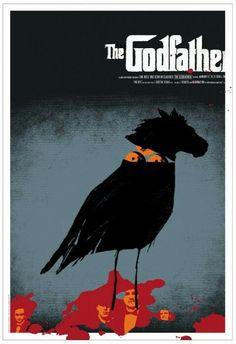 Movie Posters - Mondo - The Godfather by Jeff Kleinsmith