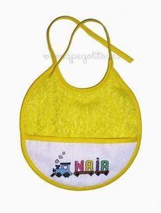 Babero personalizado limón