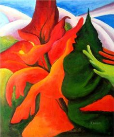 georgia okeefe paintings | Melting Volcano - Georgia OKeeffe - WikiPaintings.org