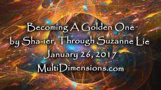 Becoming A Golden One By Sha-ier through Sue Lie