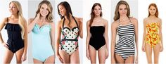 20 full coverage suit lookbook from around the web $19.99 and up...