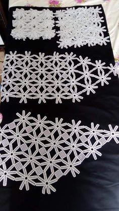 Crochet Doilies, Crochet Lace, Christmas Look, Moda Emo, Maquillaje Halloween, Ring Pillow Wedding, Bargello, Diy And Crafts, Metre