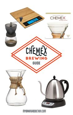Your soon-to-be favorite way to brew coffee! Chemex coffee is so smooth, you'll be just as obsessed with it as I am!