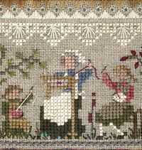 The Victoria Sampler Sewing I would love to do this one.