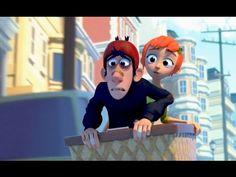 """CGI **Award Winning Animated Shorts** """"Jinky Jenkins & Lucky Lou"""" - Mich..."""