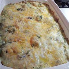 Poblano Chicken Enchilada Casserole Allrecipes.com