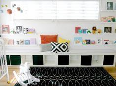 Expedit Long Bench + Cushions