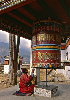 The Faithful in Bhutan