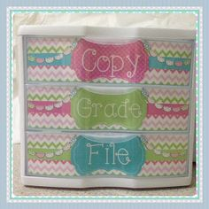 Monday Made It {June 17th}- need to do something similar for my guided reading drawers!