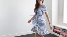 gingham wrap dress.00_14_19_06.Still003