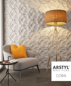 ARSTYL® Wall Tiles CORAL designed by @mac2578