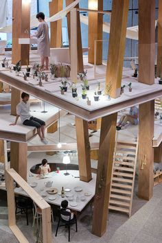 DZine Trip | Future housing concept: Pillar House by Japanese architect Suzuko Yamada | http://dzinetrip.com