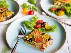 S-Küche: Italienische Frittata mit buntem Gemüse