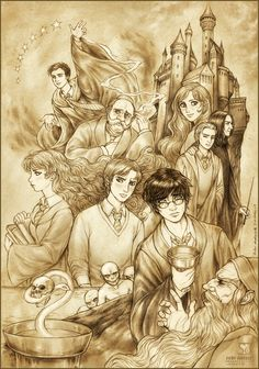 Harry Potter and the HB Prince by daekazu.deviantart.com on @deviantART