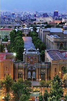 National garden , Tehran , Iran http://666travel.com/top-tourist-attractions/top-tourist-attractions-in-iran/