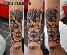 Fenerbahce! My client is (quite obviously) an avid supporter. <3