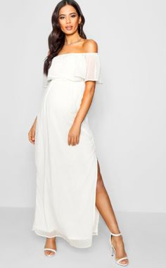 cb70d5bb6a633 44 Best White Maternity Dresses images in 2018 | Pregnancy style ...