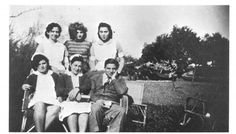 Haifa, 1947 Dr. Nimr Tuqan | Before Their Diaspora Dr. Nimr Tuqan, a pathologist and brilliant mimic from Nablus, with nurses at the Haifa Government Hospital, 1947. The brother of Ibrahim Tuqan (see 355), he became chief pathologist at the American University Hospital in Beirut.