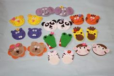 ideas for cupcake toppers and lots of cute noahs ark ideas