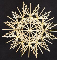 Straw Weaving, Weaving Art, Basket Weaving, Straw Crafts, Diy Straw, Vintage Christmas, Christmas Crafts, Christmas Decorations, Pagan Yule