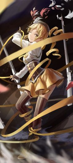 Mami... She was one of my favorite characters.. then... then... *sob* damnit