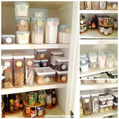 Reader Feature: A Pretty Organized Pantry - How to Organize