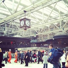 Glasgow Central Railway Station (GLC) ... Heading south by train? You'll probably be leaving from here.