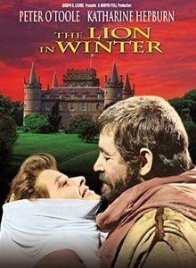 DVD:  Historical drama of the conflict between King Henry II of England and his wife Eleanor of Aquitaine over Henry's successor to the British throne.
