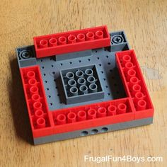 How to Build a Lego Candy Dispenser | Frugal Fun For Boys