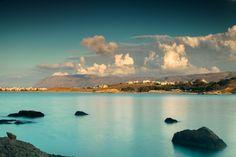 Greece, Crete. Sunset near Chania