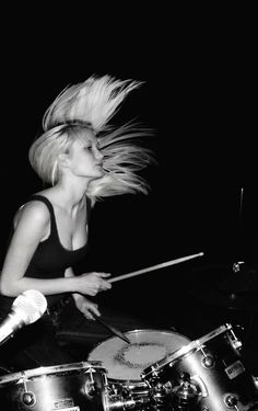 Female drummers. I need them.