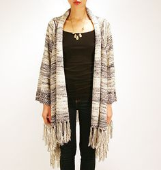roberta shawl jacket – great piece to transition from winter to spring with
