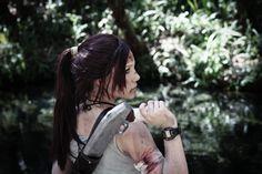 Lara Croft Shotgun/Shoulder Holster Prop by TheBirdTheBee on Etsy, $125.00